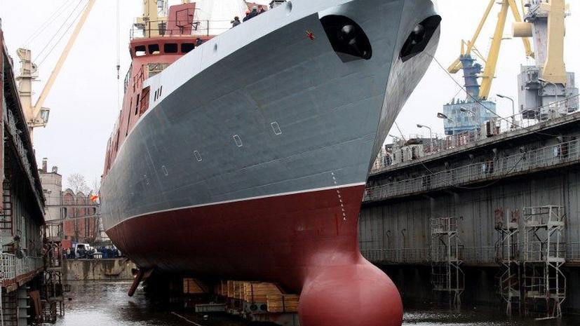 Новый российский фрегат найдет в море даже самую малозаметную субмарину