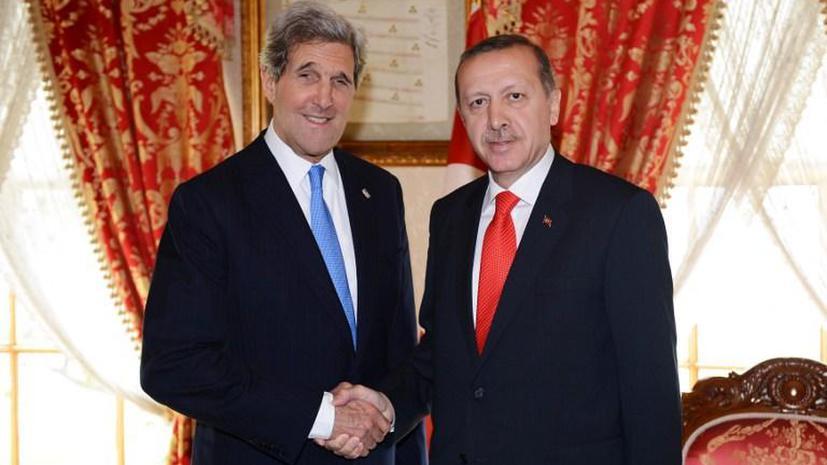 Джон Керри: процесс смены режима в Сирии должен быть быстрым и максимально ненасильственным