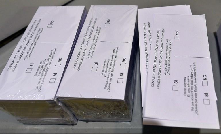 Сегодня в Каталонии проходит опрос жителей об отделении от Испании