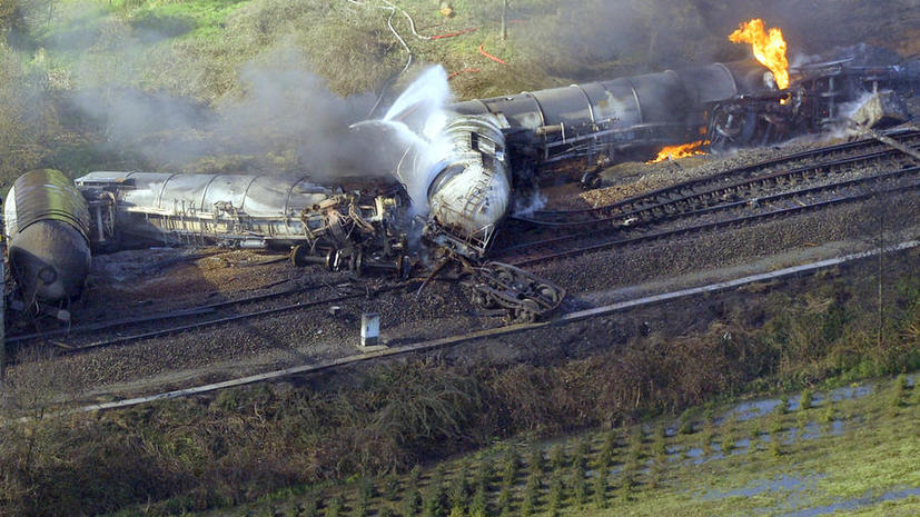 Крушение поезда в Бельгии: один погибший, 49 получили ранения