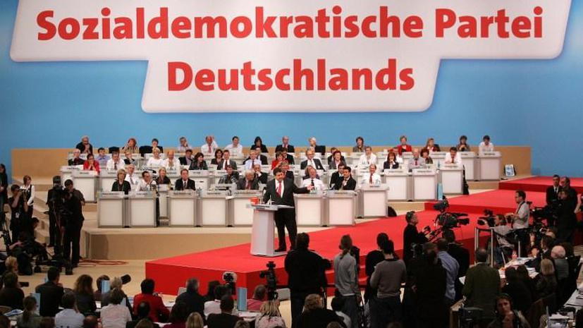 Немецким социал-демократам угрожали за отказ вступать в коалицию с Ангелой Меркель
