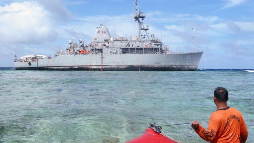 США получат счет за ущерб, нанесенный коралловому рифу на Филлипинах