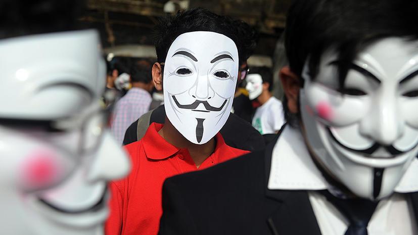 Twitter закрыл аккаунт «Анонимус» за то, что хакеры атаковали баптистов