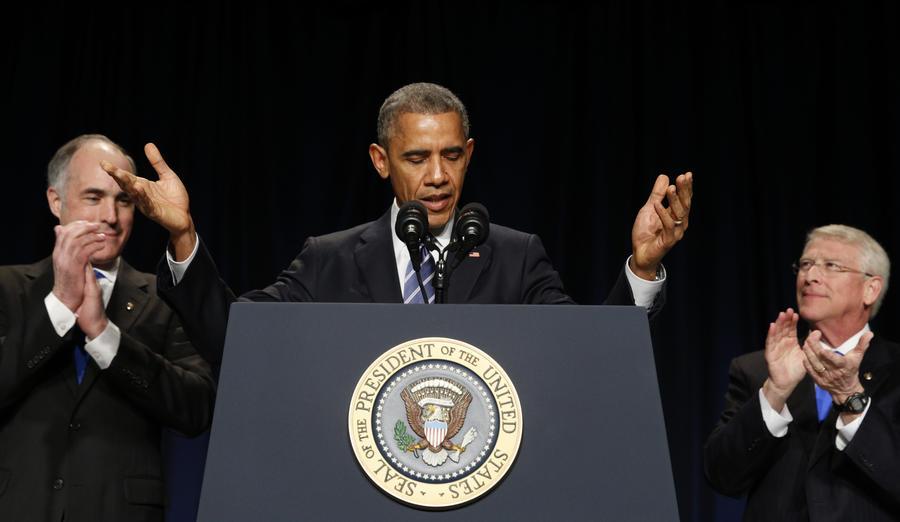 Барак Обама заявил об опасности «чрезмерного участия» США в зарубежных делах