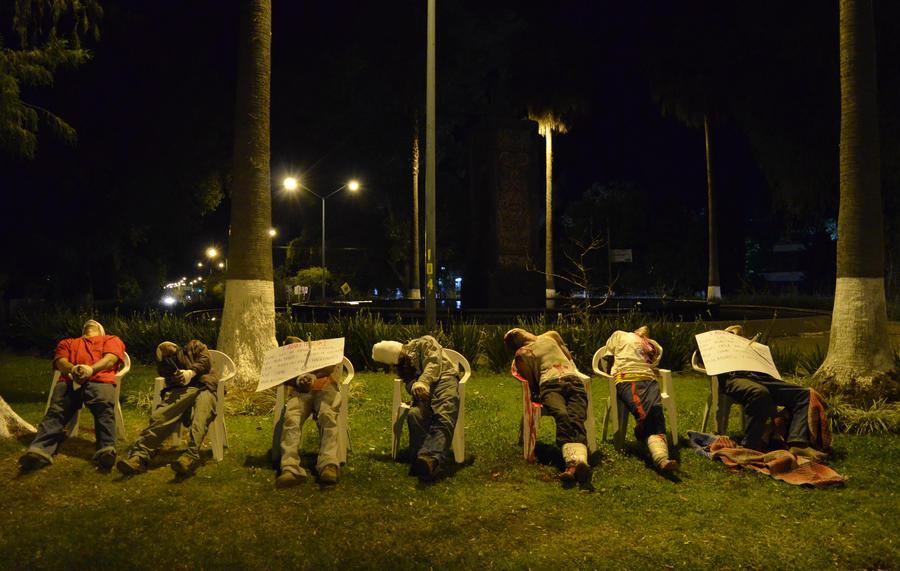 Стул для покойника: мексиканская наркомафия опять шокировала мир изощренным убийством