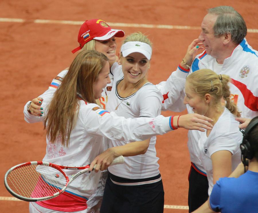 Российские теннисистки пробились в финал Кубка Федерации