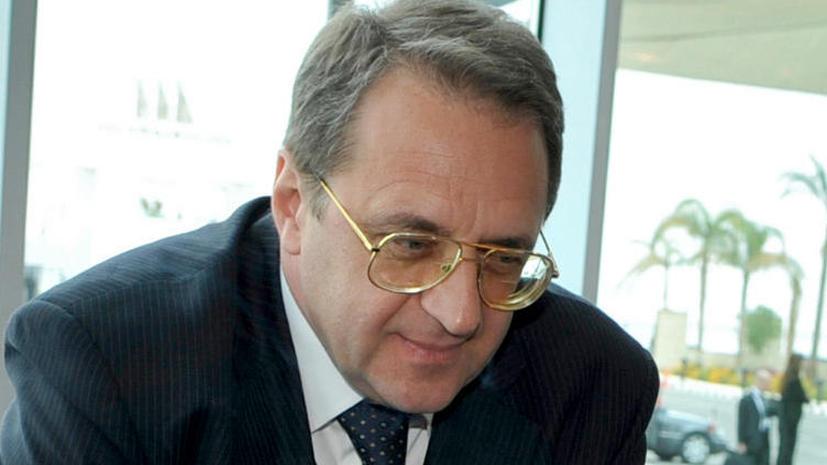 Представители от России примут участие в операции по уничтожению химоружия в Сирии