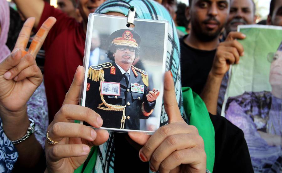 Семья Муаммара Каддафи получила убежище в Омане