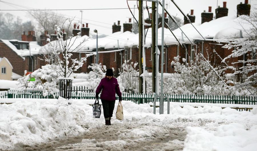 Британские старики не выдерживают морозов и умирают