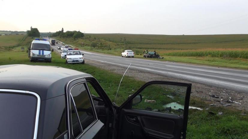 Автобус с юными спортсменами из Махачкалы попал в аварию на Cтаврополье, четыре человека погибли