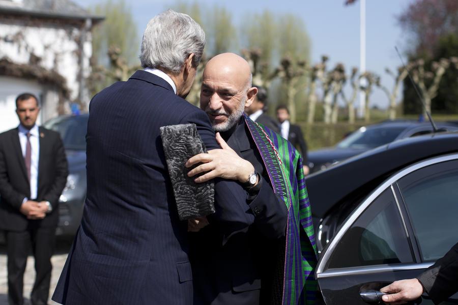 ЦРУ более десяти лет финансировало офис президента Афганистана