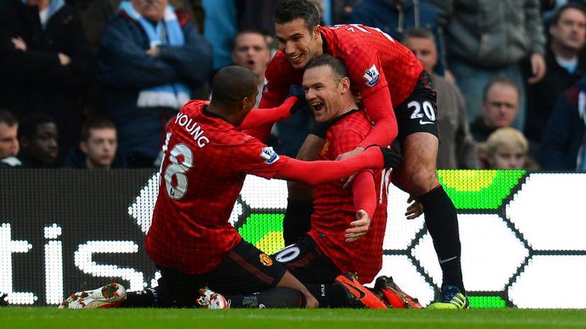 Первое дерби двух «Манчестеров» осталось за «красными»