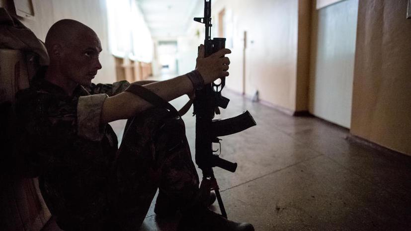 Ночь на юго-востоке Украины прошла спокойно