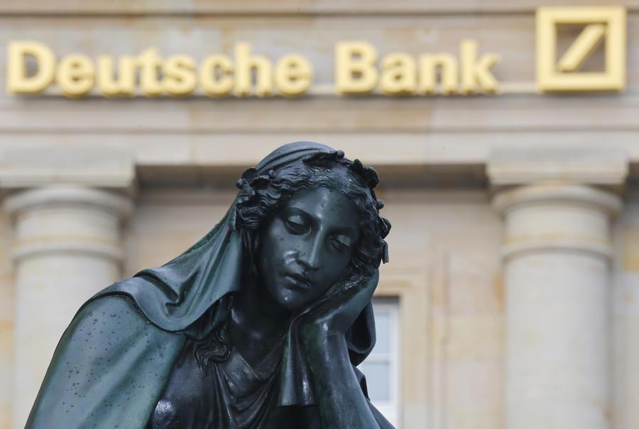 Deutsche Bank: только Христос способен спасти еврозону