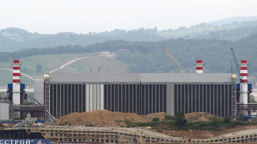 Запущена Джубгинская ТЭС, которая обеспечит энергией сочинскую Олимпиаду
