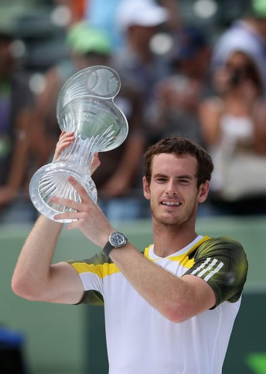 Теннисист Энди Маррей победил на турнире в Майами и вернулся на вторую строчку рейтинга