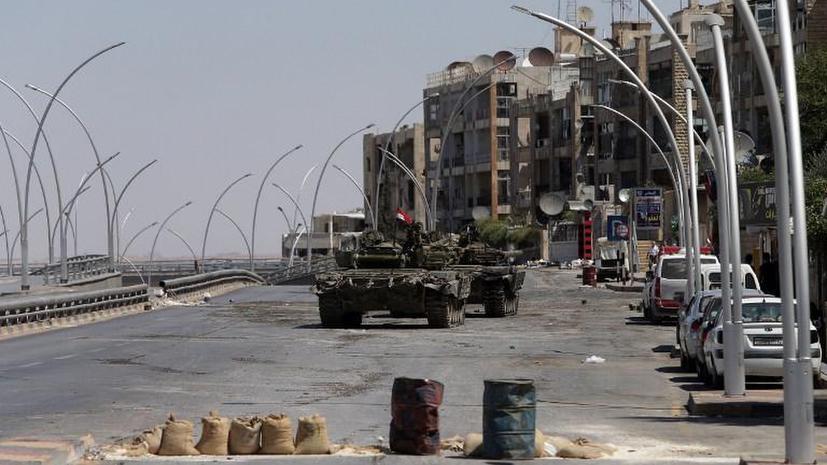 Сирийские военные поймали боевиков с банками зарина