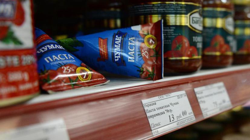 Россельхознадзор предупреждает: продукты с Украины могут исчезнуть с полок российских магазинов