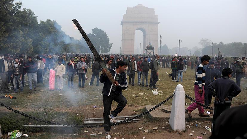 В Индии проходят массовые протесты против насилия в стране