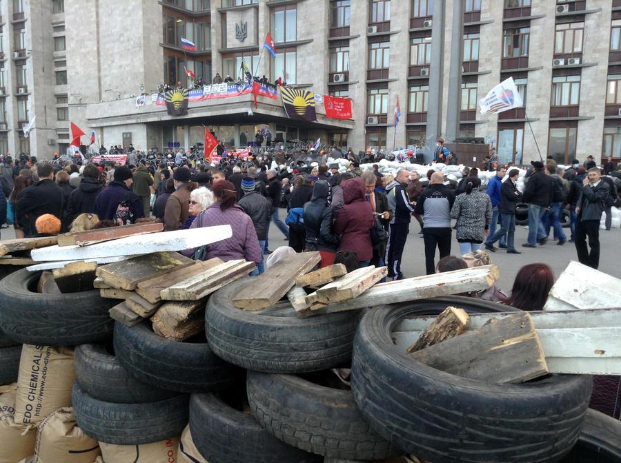 Власти Украины намерены пресечь акции на востоке страны силовым способом в течение 48 часов