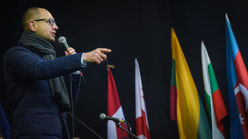 Яценюк: Мы не освободим Майдан и административные здания в центре Киева