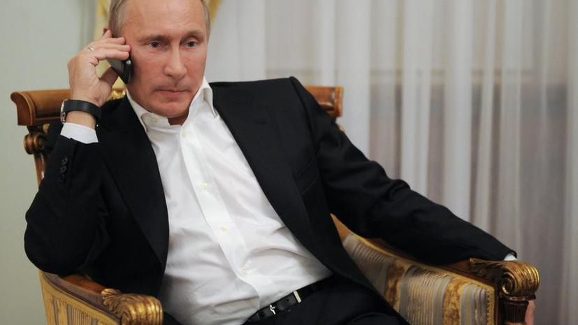 Владимир Путин созвонился с Элтоном Джоном