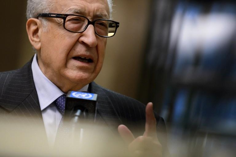 Брахими призвал ООН пересмотреть Женевскую декларацию по Сирии