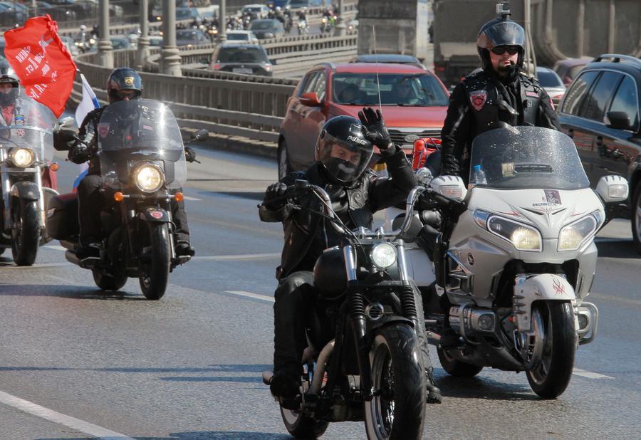За «Ночными волками» в Германии будет следить полиция