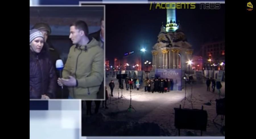 Украинские телеведущие в прямом эфире попытались замять скандал между Майданом и Донецкой областью