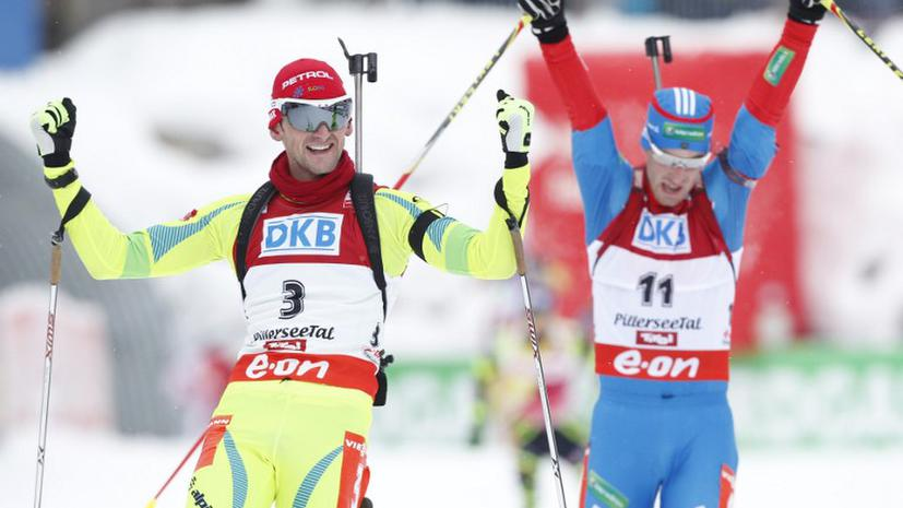 Дмитрий Малышко завоевал серебро в гонке преследования в Хохфильцене