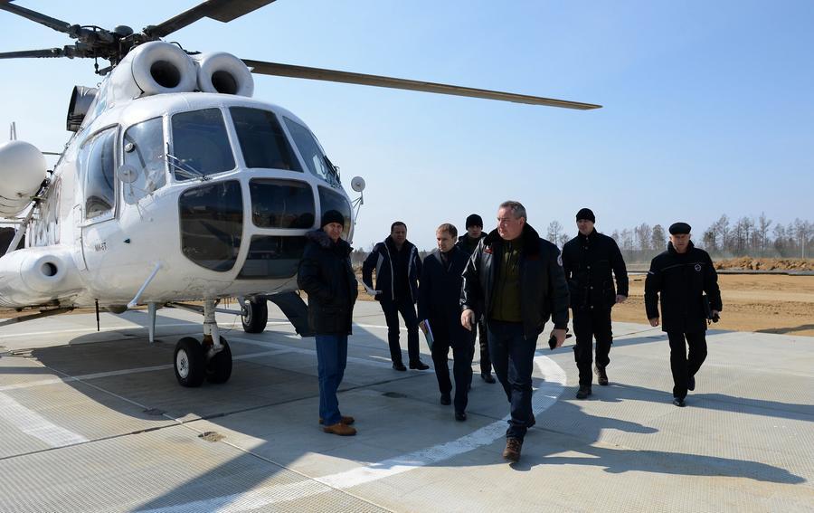 Дмитрий Рогозин: Самый критический момент строительства космодрома Восточный пройден
