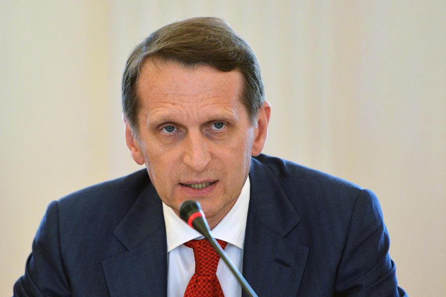 Сергей Нарышкин: На Западе скрывают правду о реальных событиях на Украине