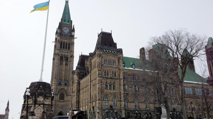 В Канаде украинцы добиваются запрета российского ТВ
