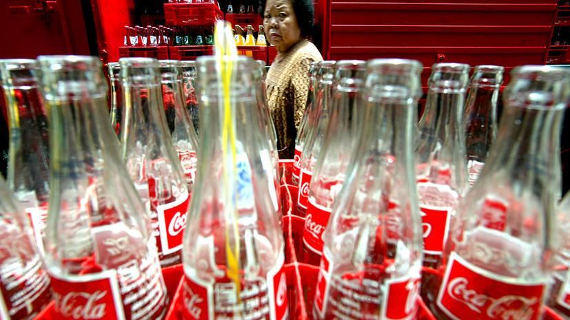 Coca-Cola начала борьбу с лишним весом