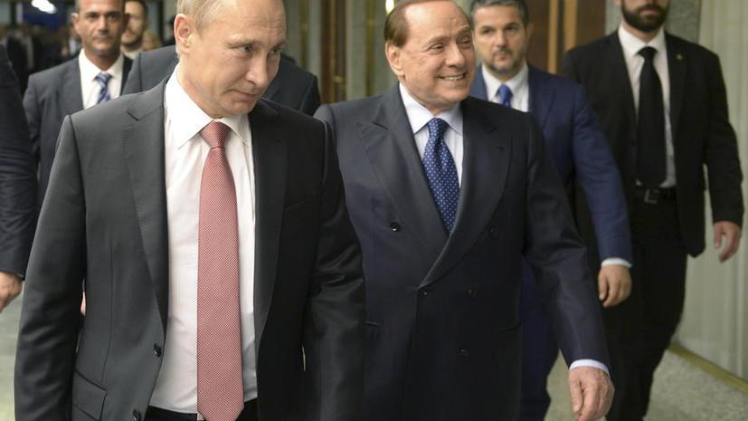 Сильвио Берлускони: Антироссийские санкции надоели всему европейскому континенту
