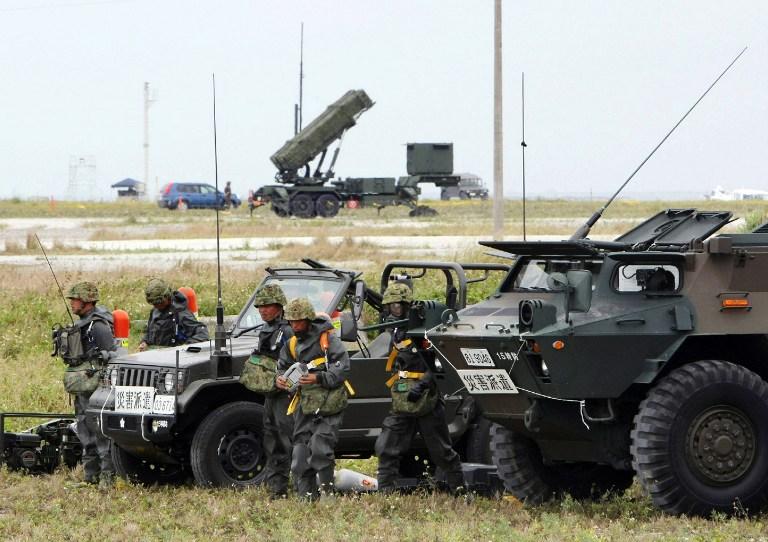Япония разместит на Окинаве ЗРК «Пэтриот» для перехвата северокорейской ракеты
