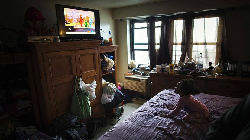Дети, которые смотрят телевизор, в будущем становятся преступниками