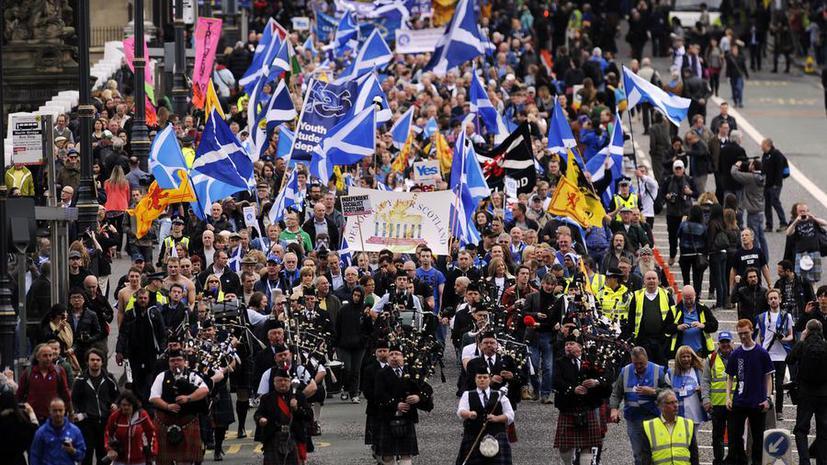 Независимость Шотландии может привести к отделению других частей Великобритании