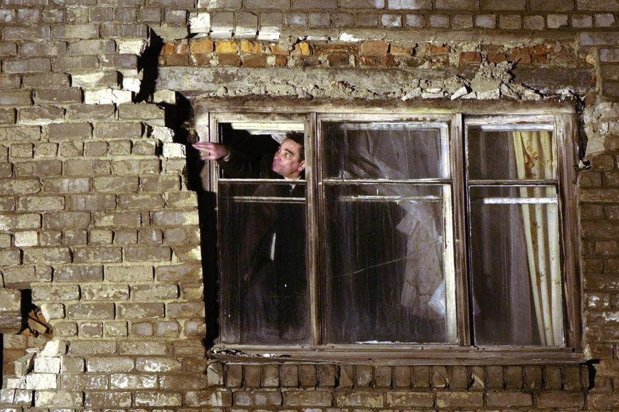 В Волгоградской области обрушился этаж  жилого дома