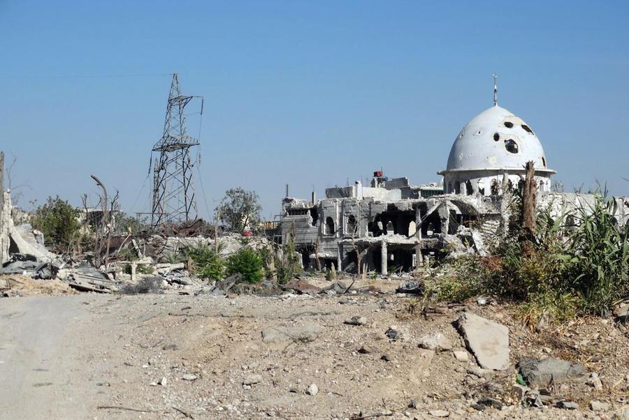 Власти Сирии опровергли сообщения о применении химоружия в пригороде Дамаска