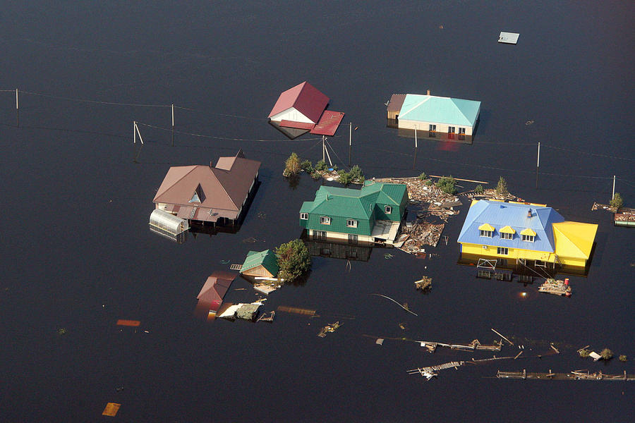 Наводнение на Дальнем Востоке: более 2 тыс. домов непригодны для жилья