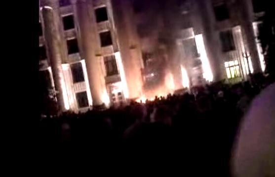Харьковская милиция больше не препятствует доступу пророссийских активистов в здание облгосадминистрации