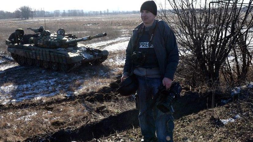 При обстреле Донецка ранен стрингер AFP Александр Гаюк