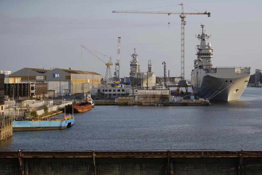 Коллегия ВПК: Россия отказалась от французских «Мистралей»