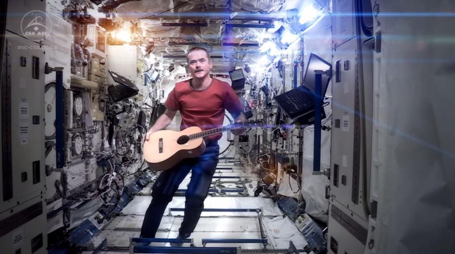 Этой осенью выйдет первый музыкальный альбом, полностью сочинённый и записанный в космосе