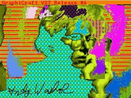 Обнаружены компьютерные рисунки Энди Уорхола