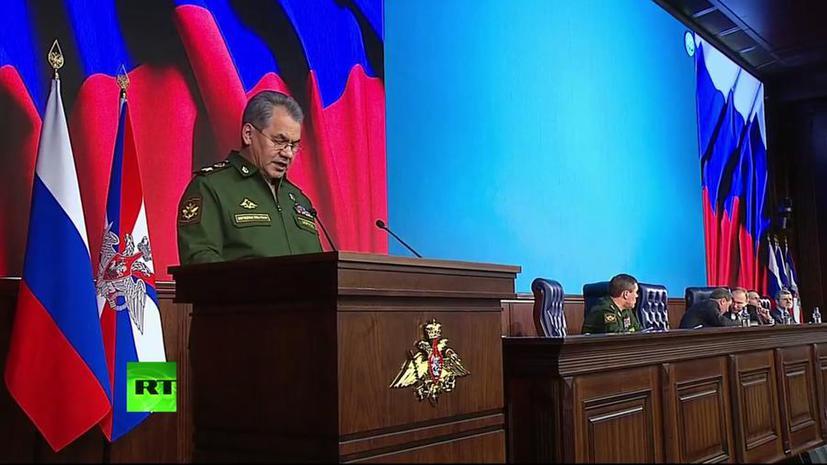 Сергей Шойгу: Стратегические силы России гарантируют ядерное сдерживание
