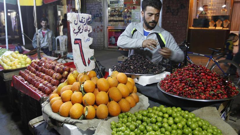 Сирия начала организованные поставки овощей и фруктов в Россию