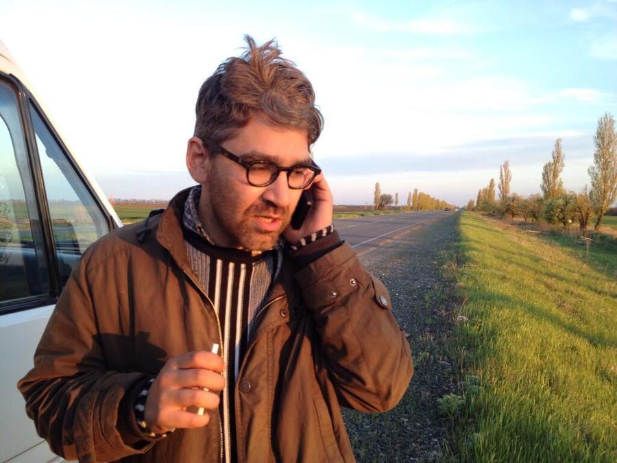 На востоке Украины освобождён американский журналист Саймон Островский