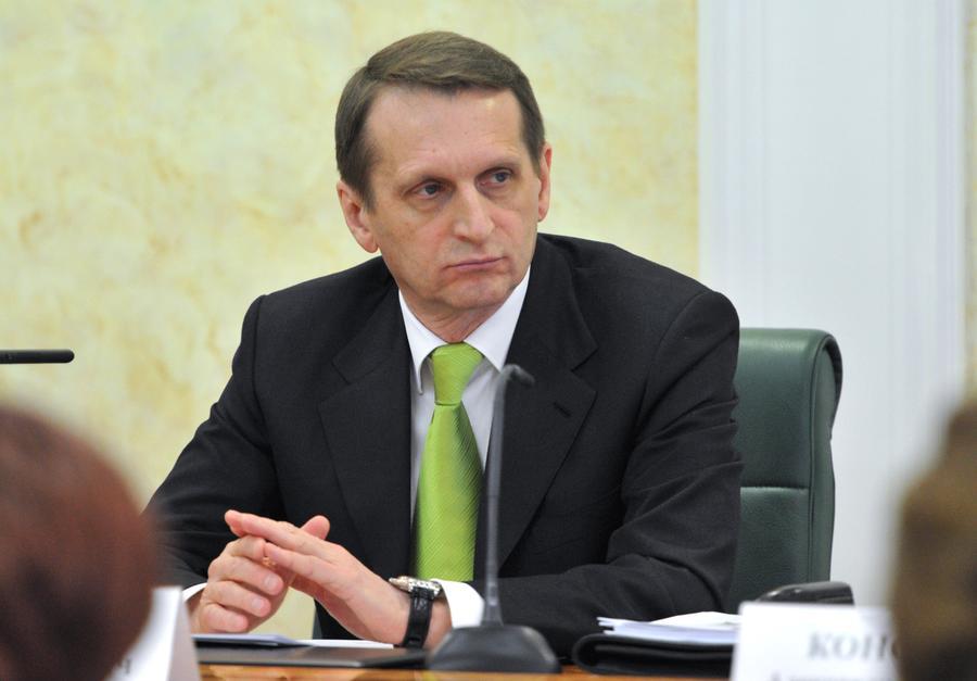 Спикер Госдумы: Россия будет считать Турчинова преступником, если против юго-востока Украины и Крыма применят силу